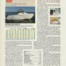 1994 American Fiberglass Coro Sea Cat 25 Boat Review & Specs- Photo