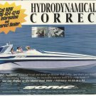 1995 Sonic YSA Powerboats Color Ad- The 42 SS