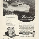 1956 Z Spar Paint Ad- Cruise Master 21' Boat