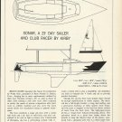 1980 Ross Marine Inc Sonar 23' Day sailer Boat Review & Specs
