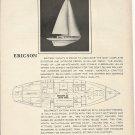 1964 Ericson Yachts Ad- The Ericson 35