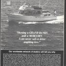 1972 American Marine LTD Ad- Grand Banks 42 Diesel Cruiser