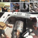 1977 Bertram Yachts 2 Page Color Ad- The Bertram 46' Convertible