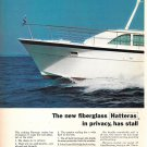 1971 Hatteras Yacht 2 Page Color Ad- The 43' Double Cabin