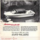 1971 Atlanta Boat Works Ad- The AristoCraft 19
