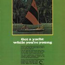 Old Scorpion Sail Boats Color Ad