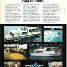 1971 Kings Craft Home Cruisers Color Ad- 44'- 55'- 40'- 35'
