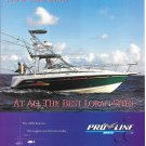 1998 Pro Line Boats Color Ad- The 3250 Express
