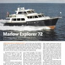 2010 Marlow Explorer 72' Yacht Review & Specs- Photos
