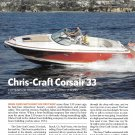 2010 Chris- Craft Corsiar 33 Boat Review & Specs- Photos