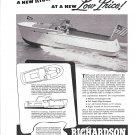 1947 Richardson Boat Company Ad- The 25' Express Cruiser