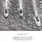 1950 Magazine Photo of Hydroplanes Racing Schuylkill River- Rosenfeld Photo