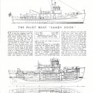 "1954 Brigham Shipyard 90' Pilot Boat ""Sandy Hook"" Review & Specs"