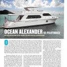 2012 Ocean Alexander 65 Pilothouse Yacht Review & Specs- Photos
