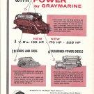 1959 Gray Marine Motor Company Ad- V-8 135- 170 & 225 HP.