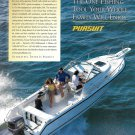 1998 Pursuit Boats Color Ad- The 2470 Walkaround