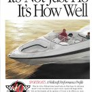 1994 Wellcraft Marine 2 Page Color Ad-43' Scarab- 6 Sport Boats