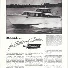 1954 International Nickel Co Ad featuring Owens 35' Sedan Yacht