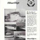 1954 Correct Craft Boats Ad- 7 Models