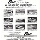1965 Rodi Chris- Craft Ad- 5 Chris- Craft Boats