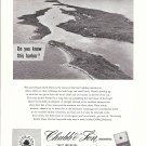 1956 Chubb & Son Insurance Ad-Great Aerial Photo of Man-O-War Bahamas