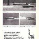 Old Champion Spark Plugs Ad-Htdeoplanes Starflite IV-Miss U.S. 1- The Hustler
