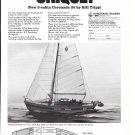 1971 Coronado Yachts Ad- The Coronado 3- Cabin 35- Specs