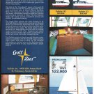 1971 Gulfstar Yachts 2 Page Color Ad- The Gulfstar 36'- Specs