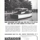 "1949 Richardson Boat Company Ad- The Richardson ""31"""