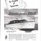 1949 Electric Auto- Lite Co. Ad- Richardson 31' Sedan Cruiser