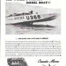 1965 Crusader Marine Engines Ad- The U-366- Rayson Craft Racing Boat