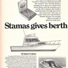 1977 Stamas Boats Inc 2 Page Ad- 26- 24 & 32 Sport