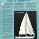 1980 Gulfstar 39 Sailmaster Yacht Color Ad