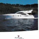 2003 Fairline Boats of North America Color Ad