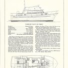 1977 Robert H Perry 36' Trawler Yacht Review & Specs