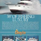 Old Cheoy Lee Shipyards Color Ad- The 38' Sport Yacht
