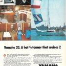 1979 Yamaha Yachts Color Ad- The Yamaha 33