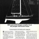 1976 Cal- Boats Ad- The Cal 39 Sailboat- Specs