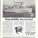 1975 American Marine LTD Ad- Grand Banks 42 Diesel Cruiser