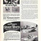 1970 Grady- White Boats Ad- 21' Chesapeake & 19' Atlantic