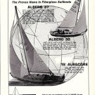 1967 Whitby Boat Works Limited Ad- Alberg 37' & 30'- 15' Albacore