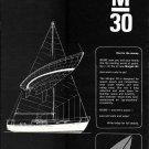 1967 Morgan Yacht Corp Ad- The Morgan 30