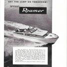 1956 Roamer Boat Corp. Ad- The 35' Express Cruiser