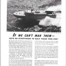 1942 WW II Kermath Marine Engines Ad-Miami Shipbuilding PT Boat