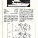 1977 Uniflite 38' Convertible Yacht Review & Specs- Photo