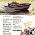 1987 Carver Boat Corp Color Ad- The 32 Montego