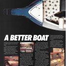 1987 Cruisers Boats Inc 2 Page Color Ad