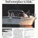 1986 Chris- Craft Yacht Color Ad- The Amerosport