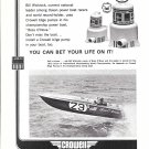 1970 Crowell Bilge Pumps Ad Featuring Racing Boat Boss O' Nova