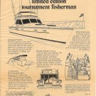 1977 Egg Harbor Boat Company Ad- 40' Tournament Fisherman